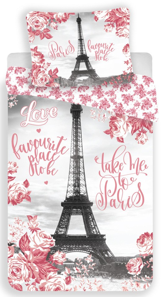 53c514df41 Paris Roses, Párizs ágyneműhuzat 140×200cm, 70×90 cm - Javoli Disney ...