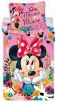 Disney Minnie ágyneműhuzat 140×200cm, 70×90 cm microfibre