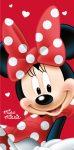 Disney Minnie fürdőlepedő, strand törölköző 70*140cm