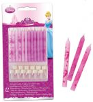Disney Princess, Hercegnők tortagyertya, gyertya szett 12 db-os