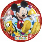 Disney Playful Mickey Papírtányér 8 db-os 23 cm