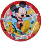Disney Playful Mickey Papírtányér 8 db-os 19,5 cm