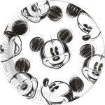 Disney Mickey Faces Papírtányér 25 db-os 23 cm