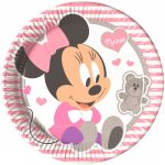 Disney Infant Minnie Papírtányér 8 db-os 23 cm