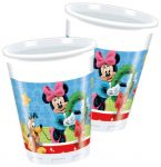Disney Mickey Christmas Time Műanyag pohár 8 db-os 200 ml