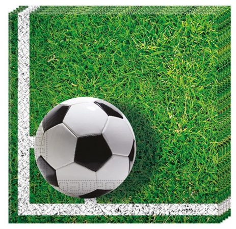 Football Party, Focis szalvéta 20 db-os