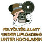 Happy New Year Retro Papírtányér 8 db-os 23 cm Metallic
