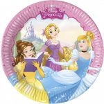 Disney Princess Dreaming, Hercegnők Papírtányér 8 db-os 19,5 cm