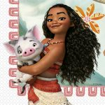 Disney Vaiana, Moana szalvéta 20 db-os