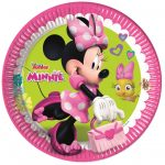 Disney Minnie Happy Helpers Papírtányér 8 db-os 23 cm