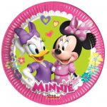 Disney Minnie Happy Helpers Papírtányér 8 db-os 19,5 cm