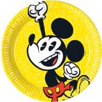 Disney Mickey Super Cool Papírtányér 8 db-os 19,5 cm