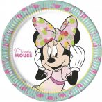 Disney Minnie Tropical Papírtányér 8 db-os 23 cm