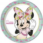 Disney Minnie Tropical Papírtányér 8 db-os 23 cm