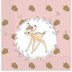 Disney Bambi Cutie szalvéta 20 db-os