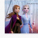 Disney Frozen II Jégvarázs szalvéta 20 db-os