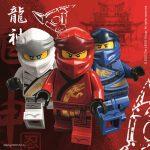 Lego Ninjago szalvéta 20 db-os