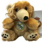 Real Madrid tapadókorongos Plüss figura 15cm