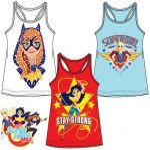 Gyerek póló, felső DC Super Hero Girls, Tini szuperhősök 4-10 év