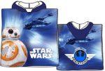 Star Wars strand törölköző poncsó 50*100cm (Fast Dry)