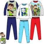 Gyerek hosszú pizsama Ben 10 3-8 év
