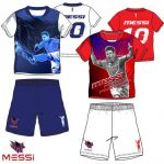 Gyerek pizsama Lionel Messi 4-8 év