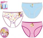 Gyerek fehérnemű, bugyi Disney Princess, Hercegnők 3 darab/csomag
