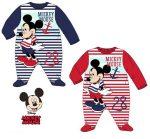 Disney Mickey baba rugdalózó, pizsama 6-24 hó