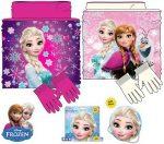 Gyerek sál, snood + kesztyű Disney Frozen, Jégvarázs