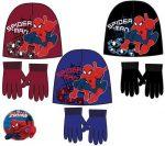 Gyerek sapka + kesztyű szett Spiderman, Pókember