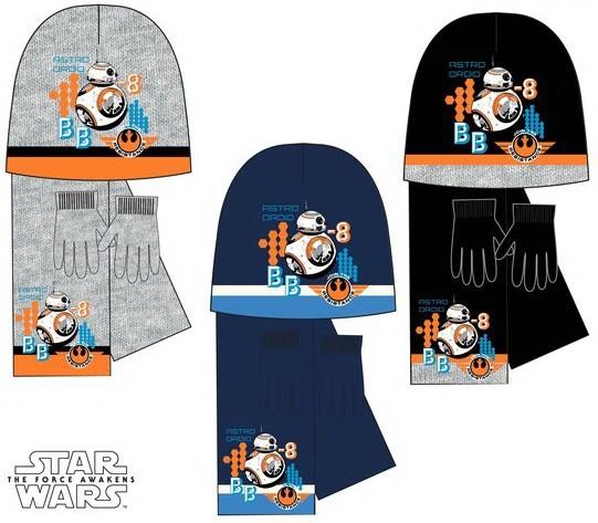 Gyerek sapka + sál + kesztyű szett Star Wars - Javoli Disney Licensz ... db820294f7