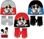 Gyerek sapka + kesztyű szett Disney Mickey