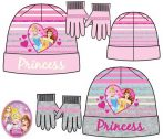 Disney Hercegnők Gyerek sapka + kesztyű szett