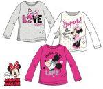 Disney Minnie gyerek hosszú ujjú póló 3-8 év