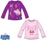 Gyerek hosszú póló, felső Peppa Pig 3-8 év