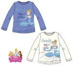 Disney Hercegnők gyerek hosszú póló, felső 3-6 év