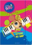 Littlest Pet Shop A/4 gumis mappa