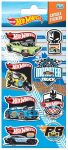 Hot Wheels Pufi matrica 8 db-os szett