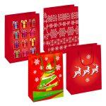 Karácsony ajándékzacskó 23*17,5*10cm
