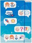 Disney Emoji Frozen, Jégvarázs A/4 gumis mappa