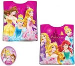 Disney Princess, Hercegnők strand törölköző poncsó 50*100cm