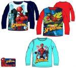 Gyerek hosszú ujjú póló Spiderman, Pókember 3-8 év