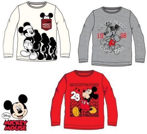 Gyerek hosszú ujjú póló Disney Mickey 3-8 év - Javoli Disney Licensz ... fe0cb66cc0