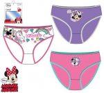 Gyerek fehérnemű, bugyi Disney Minnie 3 darab/csomag