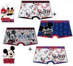 Disney Mickey gyerek boxeralsó 2 darab/csomag