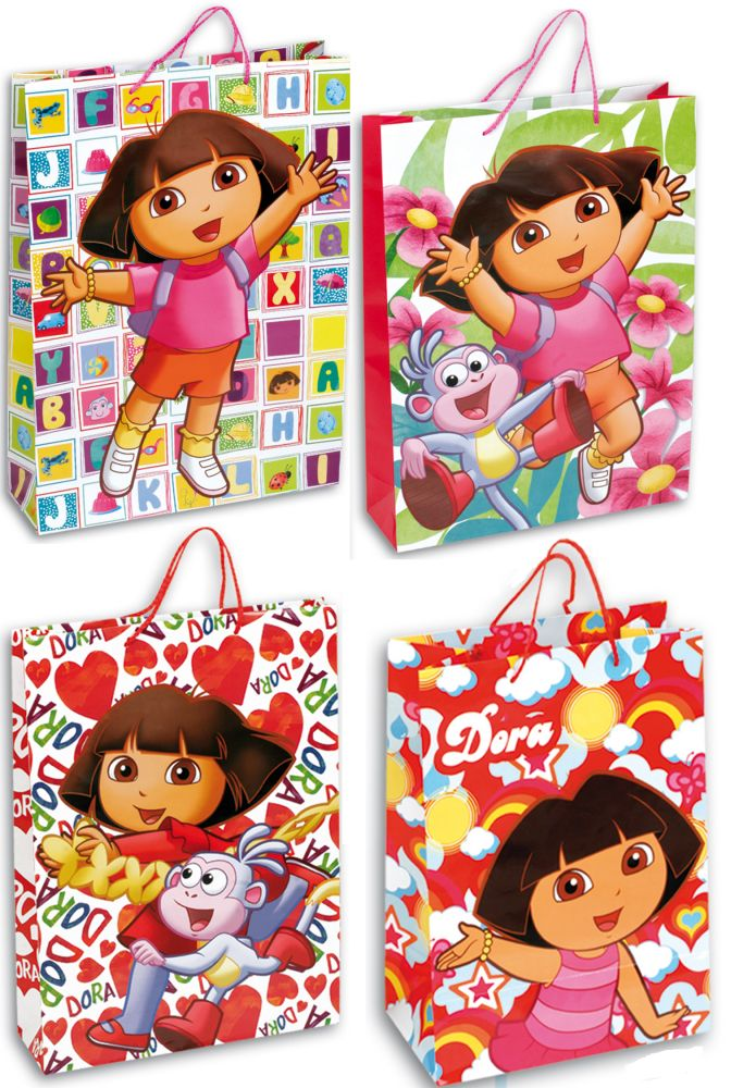 Dora The Explorer Gift Bag 33 24 5 13 Cm Javoli Disney Licensed Online