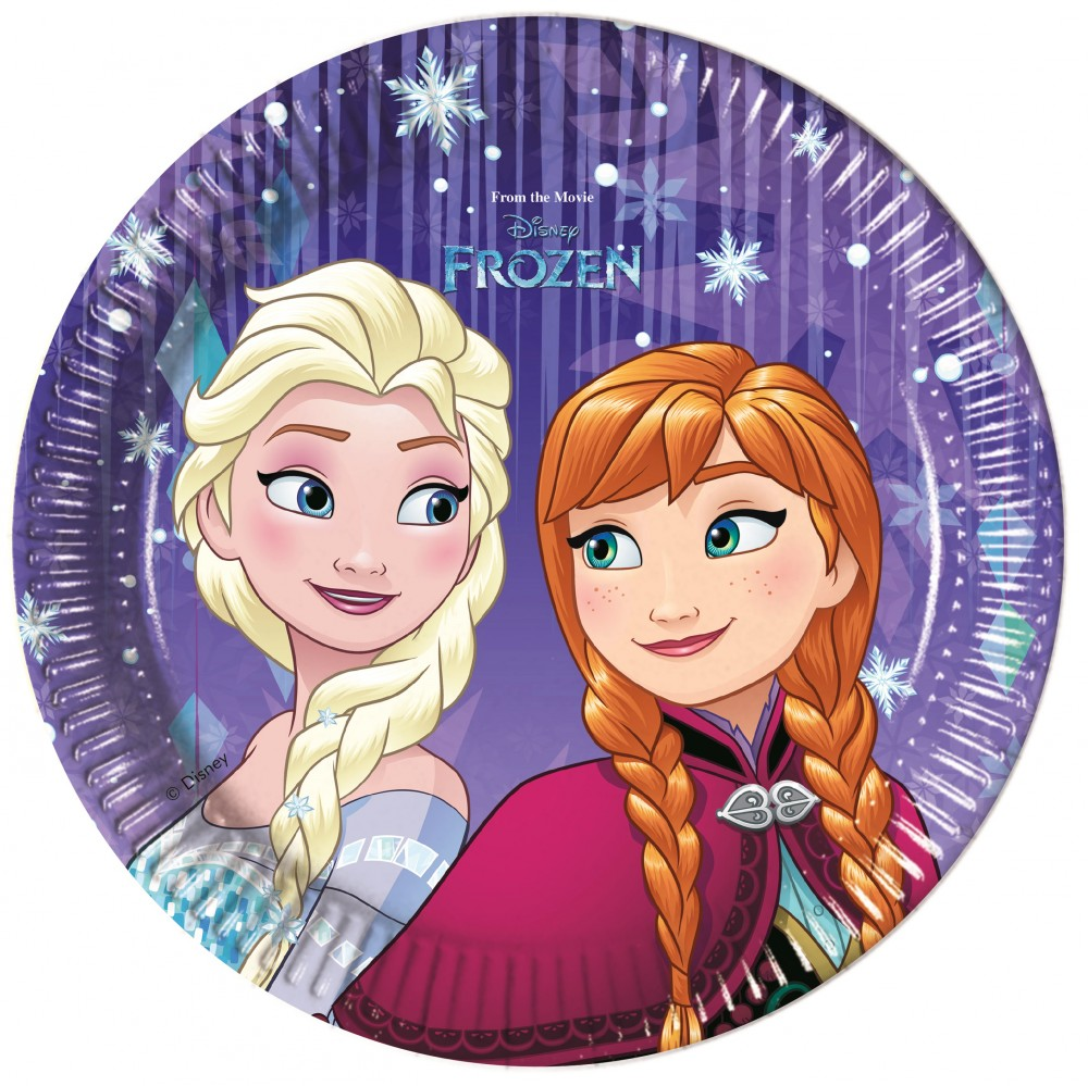 Disney Frozen Paper Plate (8 pieces) 19 48196f78dd