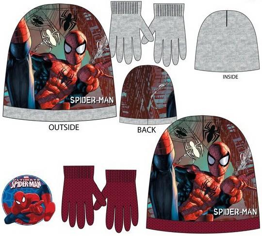 Spiderman Child Hat + Gloves set - Javoli Disney Licensed Online Store 0f9b841686