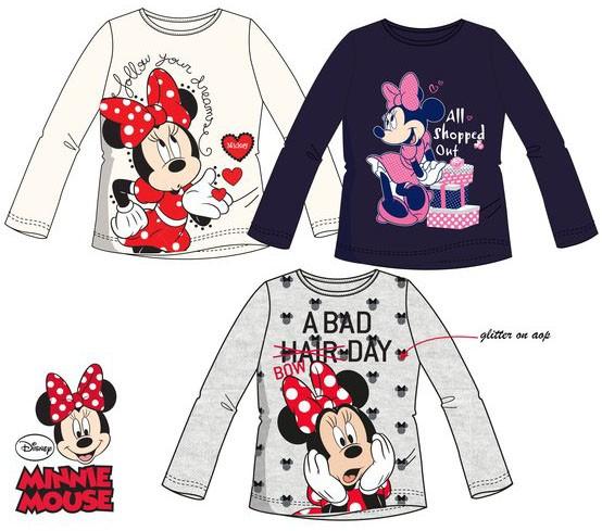 7cbd3b2223 Disney Minnie Child T-shirt long sleeve 3-8 year - Javoli Disney ...